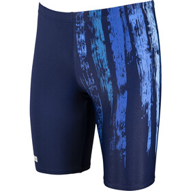 arena Team Painted Stripes Jammer Heren, navy/multi turquoise